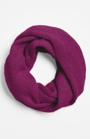 Pointelle Knit Cashmere Infinity Scarf