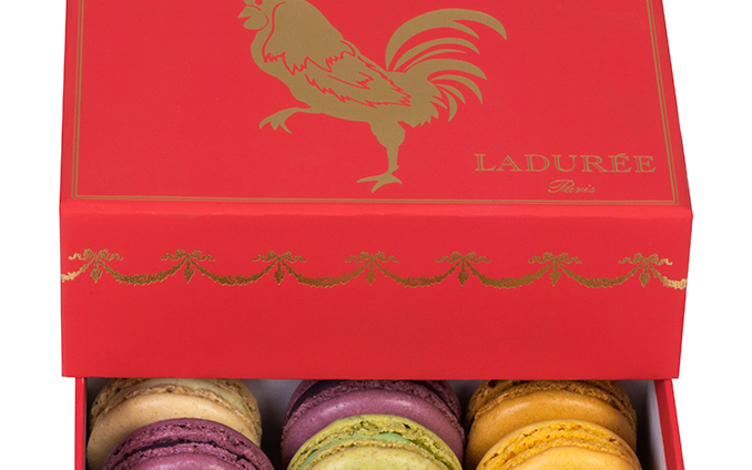 ladure the world renowned luxury french ptisserie celebrates chinese new year on january 28th with beautifully designed limited edition macaron boxes - Gifts For Chinese New Year