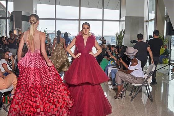 Lax Brings Couture Fashion Runway To Tom Bradley International Terminal