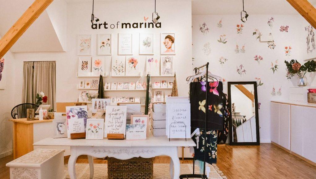 Vancouver-born fashion designer Marina Billinghurst