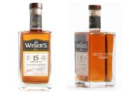 .P. Wiser's award-winning 15 Year Old whisky engraved