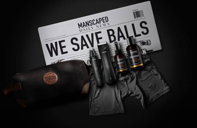 manscape grooming products