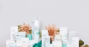 collection of skin care products