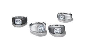Tiffany diamond rings for men